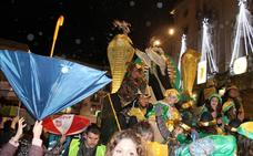 El agua amenaza la Cabalgata de Reyes de Jaén