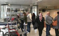 La lista de espera para el médico de cabecera colapsa las Urgencias por la gripe