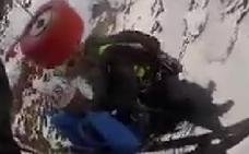 Rescatan en helicóptero a dos alpinistas de Jaén en Sierra Nevada