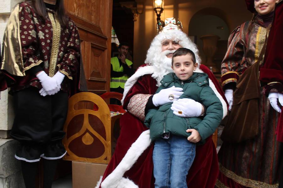 Llegan los Reyes Magos a Jaén