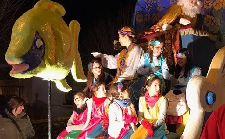 Los Reyes Magos llegan a toda la provincia de Granada