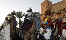 Almería recibe como se merecen a los tres Reyes Magos