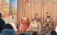 Chiquetete se quita el disfraz Rey Mago y destroza la ilusión de los niños