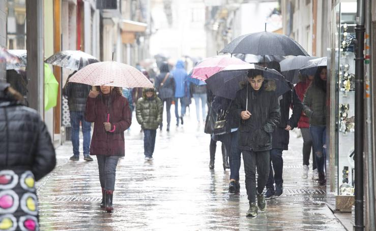 Y tras la nieve llegó la lluvia a Granada