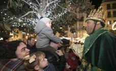 La ilusión de ver a los Reyes Magos