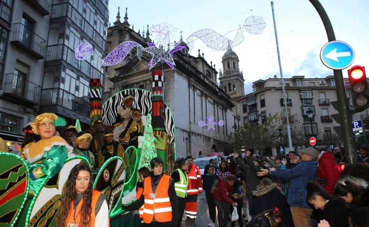 Los Magos de Oriente llenan las calles de Jaén de magia