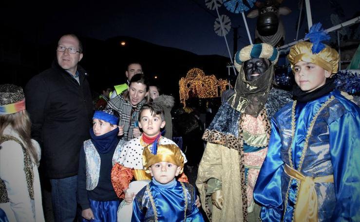 Los Reyes Magos en Órgiva
