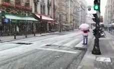 ¿Quién le pidió a los Reyes Magos que nevara en Granada?
