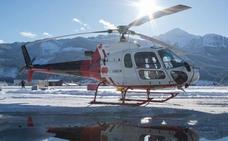 Helicópteros para ir a la nieve