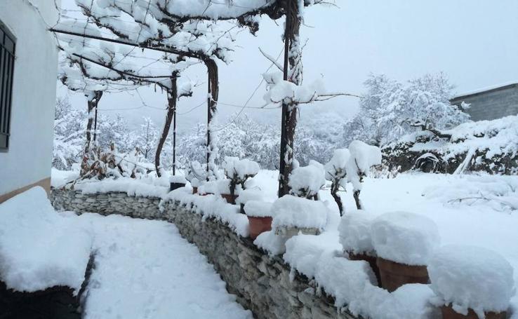 Los efectos de la gota fría a su paso por Almería