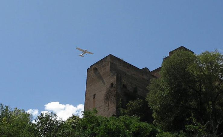 Bajos vuelos en la Alhambra