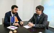 Torrent telefoneó a Puigdemont antes de aplazar el pleno, pero a él no le constan llamadas