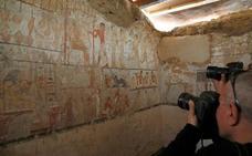 Hallan la tumba de una mujer del Alto Imperio egipcio no vinculada a la realeza