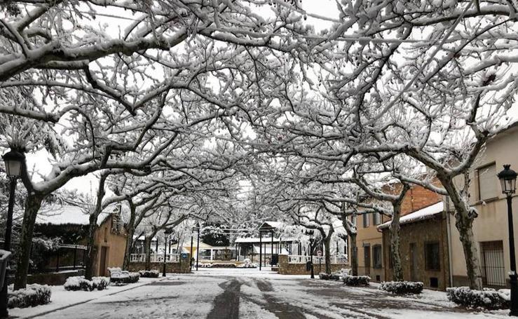 Nieve en Jaén