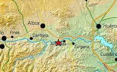 Registrado un terremoto de magnitud 3,1 con epicentro en Arboleas