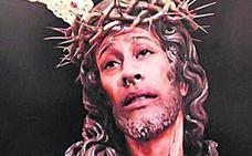Multa de 480 euros por un montaje del Cristo de la Amargura con su cara