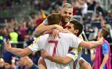 España vence a Kazajistán desde la pena máxima y estará en la final