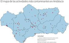 Granada tiene la industria menos contaminante de Andalucía