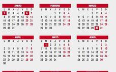 ¿En qué días y cuándo cae Semana Santa? Festivos y puentes del calendario laboral 2018