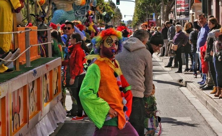 Los almerienses se vuelcan con el Carnaval y la fiesta de la sobrasada