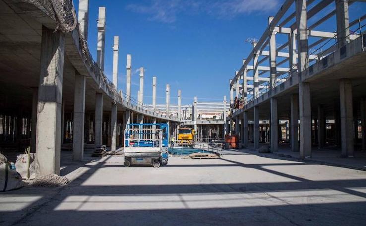 Así marchan las obras del Centro Comercial Torrecárdenas