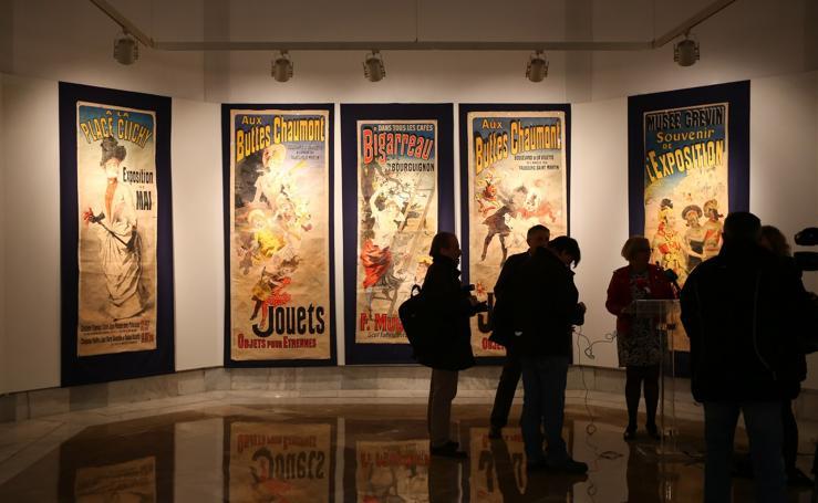 La colección de carteles de la Belle Époque de los Zuloaga, en Granada