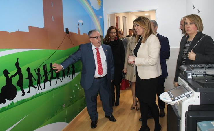 Susana Díaz visita Mengíbar