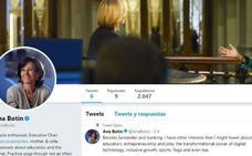 Ana Botín llega a Twitter para hablar de «yoga», «té» y «otras inquietudes»