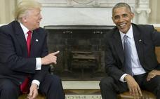 Trump insta a su fiscal general a investigar a Obama por la injerencia rusa