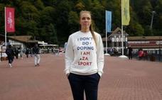 La atleta que lució en su camiseta 'Yo no me dopo' da positivo