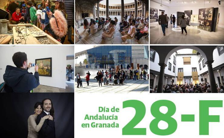 Día de Andalucía en Granada: planes gratis para disfrutar con toda la familia