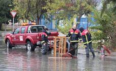 El temporal deja 17 incidencias en la provincia: las carreteras de la Alpujarra las más afectadas