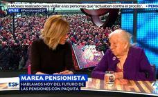 El 'zasca' de una pensionista de 91 años a Susanna Griso que aplauden las redes