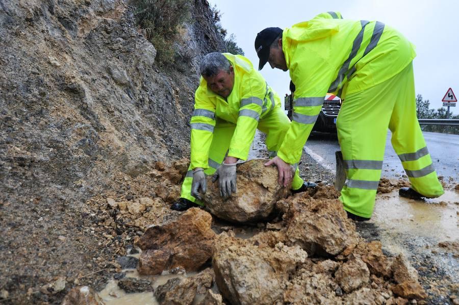Efectos del temporal en la Alpujarra de Granada