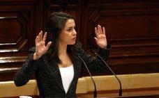 Arrimadas no se postulará para presidir la Generalitat en la nueva ronda de contactos
