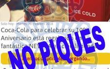 La Policía Nacional avisa del timo de Nike, Bimbo, Coca-Cola, Ryanair y Lancôme