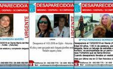 La extraña desaparición de tres mujeres con pocas horas y kilómetros de diferencia