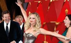 Jennifer Lawrence la gran protagonista en redes tras la gala de los Óscar
