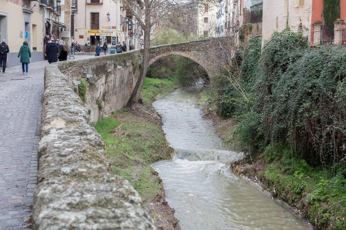 Los ríos de Granada recuperan caudal tras las últimas lluvias