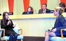 Una joven cuenta en la ONU cómo logró salir de la pobreza y ser empresaria
