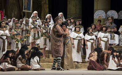 La Ópera Nacional de Moldavia interpreta 'Aída' el lunes en la Casa de la Cultura de Almuñécar
