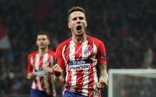 Saúl hace brillar al Atlético en Europa