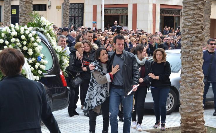Almería se despide pequeño Gabriel