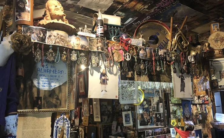 Así es por dentro 'El Rincón Cofrade' que vas a querer visitar esta Semana Santa en Granada