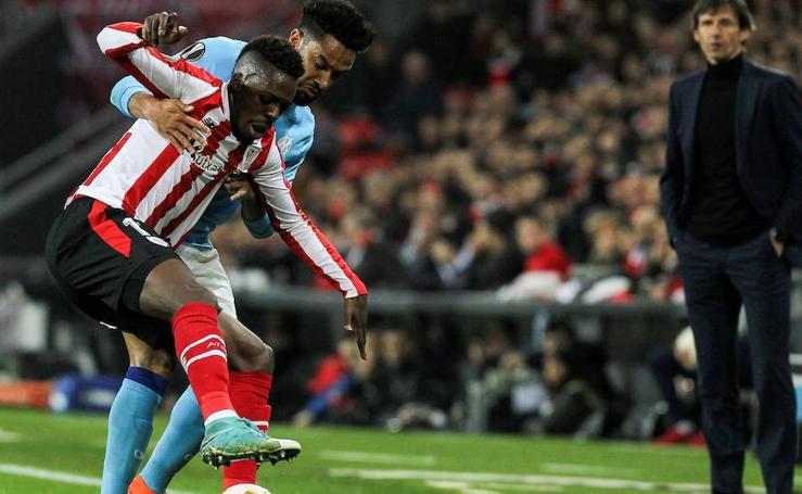 El Athletic-Marsella, en imágenes