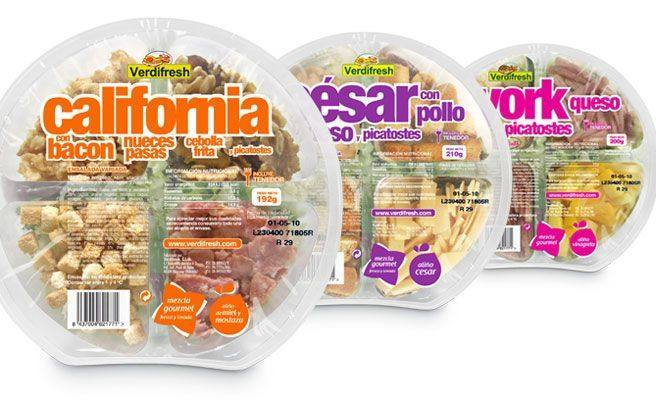 Así son las ensaladas y productos verdes de Mercadona