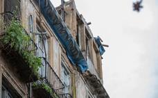 El edificio de Elvira será apuntalado para prevenir el riesgo de derrumbe
