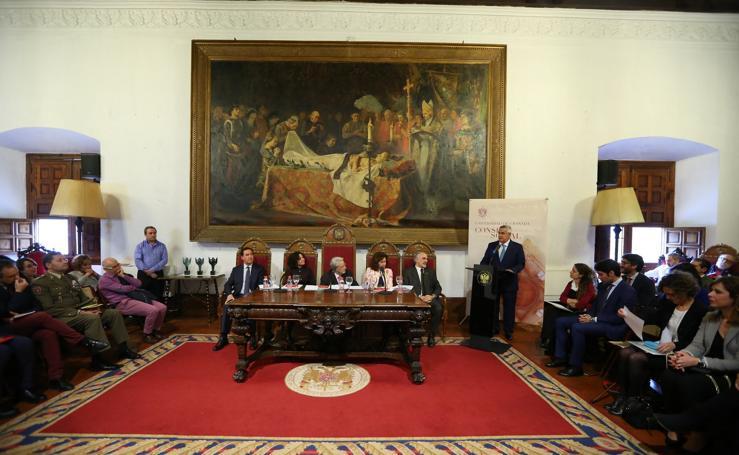 Entrega de los premios anuales del Consejo Social de la Universidad de Granada