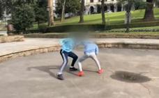 La brutal pelea entre dos menores en un céntrico parque que conmociona a España