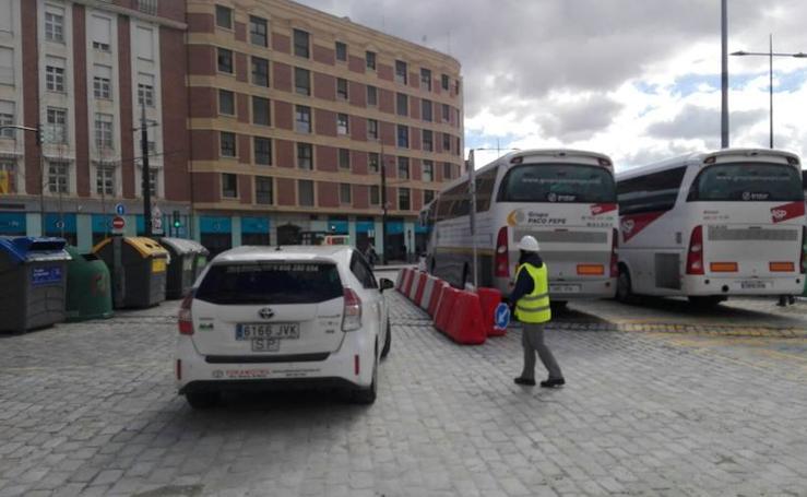 El tráfico de autobuses en Renfe, frenado por la fragilidad del nuevo pavimento